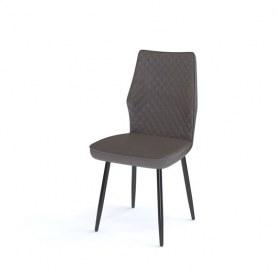 Кухонный стул Kenner 126S черный/коричневый