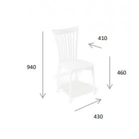 Кухонный стул Kenner 102M венге/кремовый