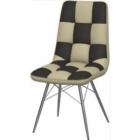 Обеденный стул Бордо-2 2-х цветный (Nitro Cream - Brown)