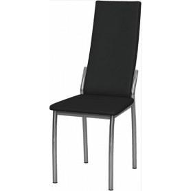 Обеденный стул Асти хром (Nitro Black)