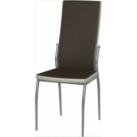 Обеденный стул Мартини 2-х цветный окраш (Punto Brown - Pearl)