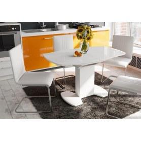 Обеденный стул Марсель, цвет Белый, к/з 124
