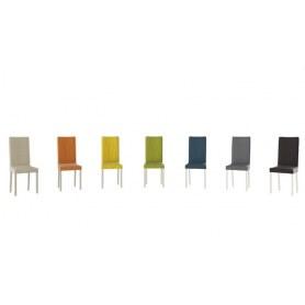 Обеденный стул Ромео, цвет Слоновая кость/тк №35 Коричневый/Chocolate Б-535
