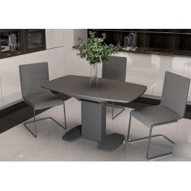 Обеденный стул София, цвет Серый, к/з Santorini 0422