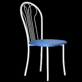 Кухонный стул В-1 б/к, кожзам, синий