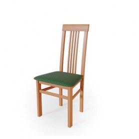 Кухонный стул Алла 01 Яблоня локарно/ткань Жаккард зеленый