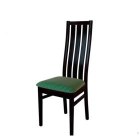 Кухонный стул Андра Венге/ткань Жаккард зеленый