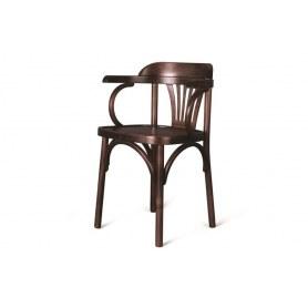 Кухонный стул Венский твердый (темный тон)
