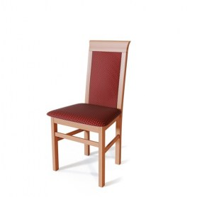 Кухонный стул Алла Яблоня локарно/ткань Жаккард бордо