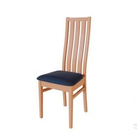 Кухонный стул Андра Груша арозо/ткань Жаккард синий