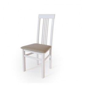 Кухонный стул Алла 01 Белая эмаль/ткань Malta 03