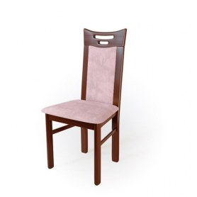 Кухонный стул  Юля Орех №2/ткань Velvetlux 01