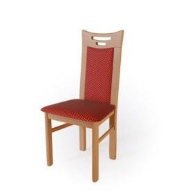 Кухонный стул  Юля Груша арозо/ткань Жаккард бордо