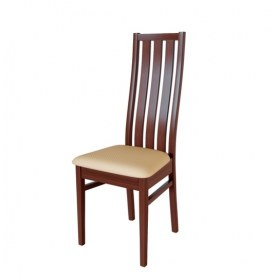 Кухонный стул Андра Орех №2/ткань Жаккард бежевый