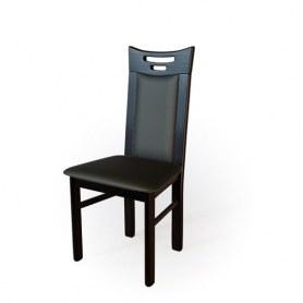 Кухонный стул  Юля Венге/кожа Эгида terra 118