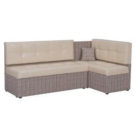 Кухонный угловой диван Нео КМ3 с механизмом 2000х1460