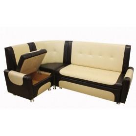 Кухонный угловой диван Гранд 1 с механизмом