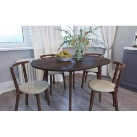 Обеденная группа: стол Орион Plus, стулья Туренс