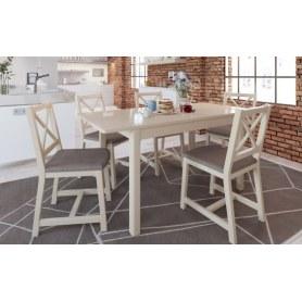 Обеденная группа: стол Антила Plus, стулья Мира