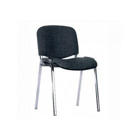 Офисный стул ИЗО хром/серый