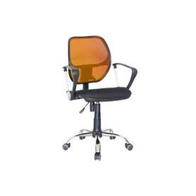 Офисное кресло Марс PC-900 хром (оранжевый)