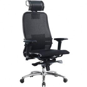 Офисное кресло Samurai S-3.03, черный плюс