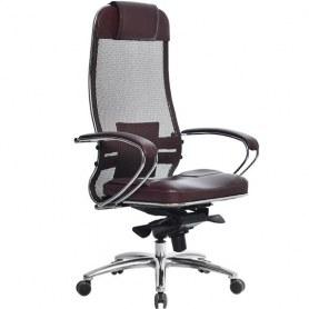 Офисное кресло Samurai SL-1.03, темно-бордовый