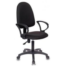 Офисное кресло БР1300 СН Престиж, Черная ткань