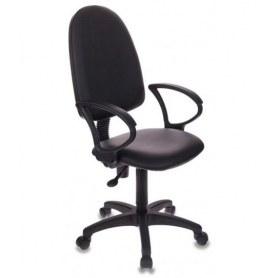 Офисное кресло БР1300 СН Престиж, Черный кожзам
