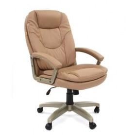 Офисное кресло CHAIRMAN 668 LT Экокожа премиум бежевая