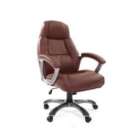 Кресло CHAIRMAN 436 кожа коричневая