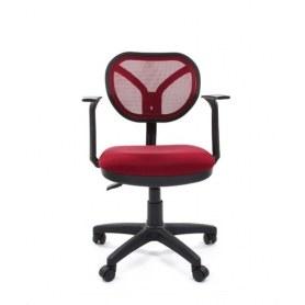 Кресло CHAIRMAN 450 New Ткань TW 13 красная