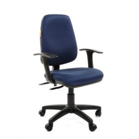 Кресло CHAIRMAN 661 Ткань стандарт 15-03 синяя