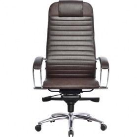 Офисное кресло Samurai K-1.03, коричневый