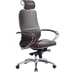 Офисное кресло Samurai KL-2.03, темно-коричневый