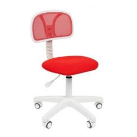 Кресло CHAIRMAN 250 White, цвет красный