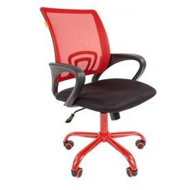 Кресло CHAIRMAN 696 CMET, Красное