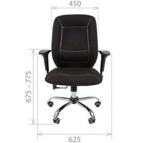 Кресло CHAIRMAN 888, Ткань С-3 черная
