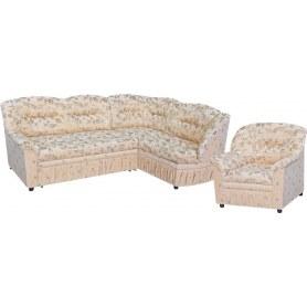 Угловой диван Амадеус М + 1 кресло (комплект)