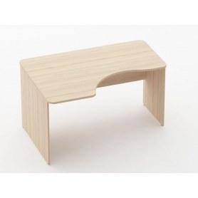 Стол угловой Glassy 1.14.14Л цвет Туя 1400х1000(680)х751