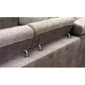Угловой диван  Неаполь 10 ДУ (П3+Д2+Д5+П3)