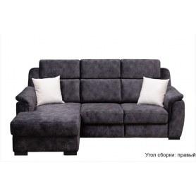 Угловой диван Бруклин с оттоманкой