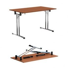 Стол складной FT140 chrome офисный на мет. Основе 1380x680x760