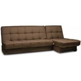 Угловой диван Лондон 1 с оттоманкой, ППУ