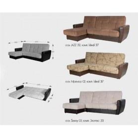 Угловой диван Кёльн, пружинный блок