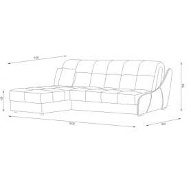 Угловой диван Токио (ППУ)