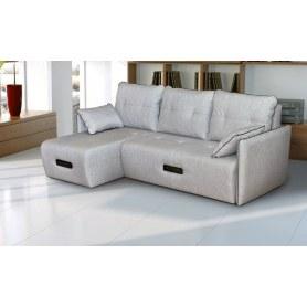 Угловой диван Валенсия (с оттоманкой)