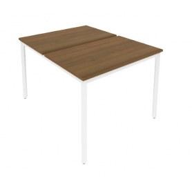 Стол письменный С.СП-3.2 Орех/Белый