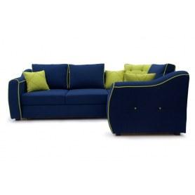Угловой Диван Karter 190 (Uno blu)