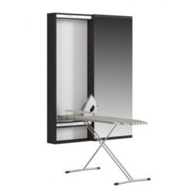 Пенал с зеркалом Светлана (СП) с зеркалом и гладильной доской, венге